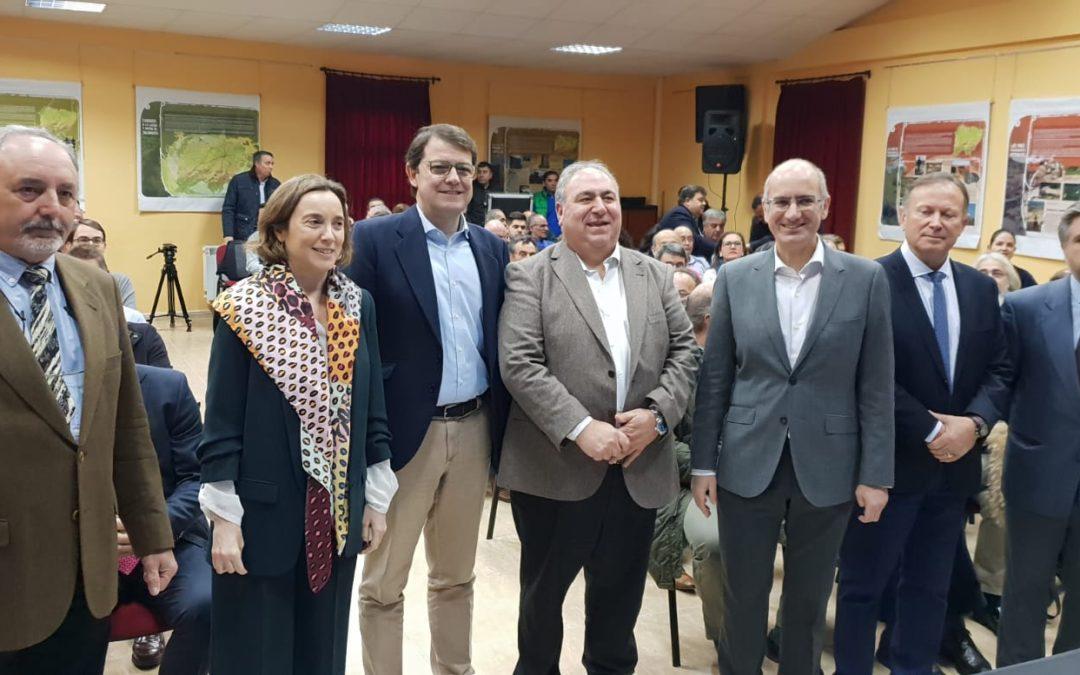 """Fernández Mañueco: """"El Partido Popular de Castilla y León es el único que defiende con claridad y rotundidad el mundo rural"""""""