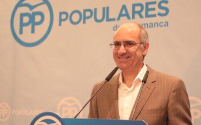 Iglesias afirma que las fortalezas imbatibles del PP de Salamanca son la cercanía a las personas y el territorio y la gestión de éxito