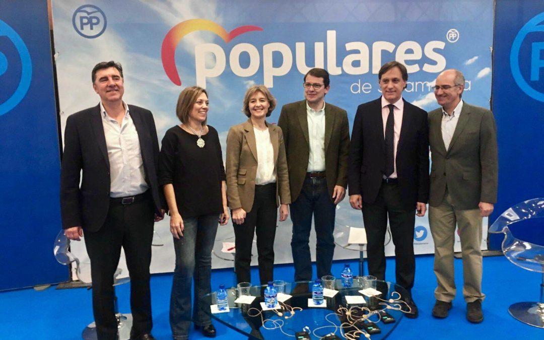 """Fernández Mañueco: """"El Partido Popular es el único que apuesta por el mundo rural y por nuestros pueblos"""""""
