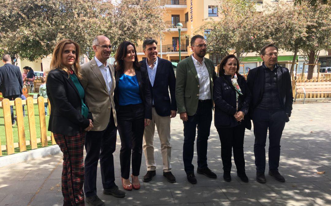 Edurne Uriarte pide el voto para el Partido Popular para evitar un gobierno de Sánchez con aquellos que han dado un golpe a la democracia