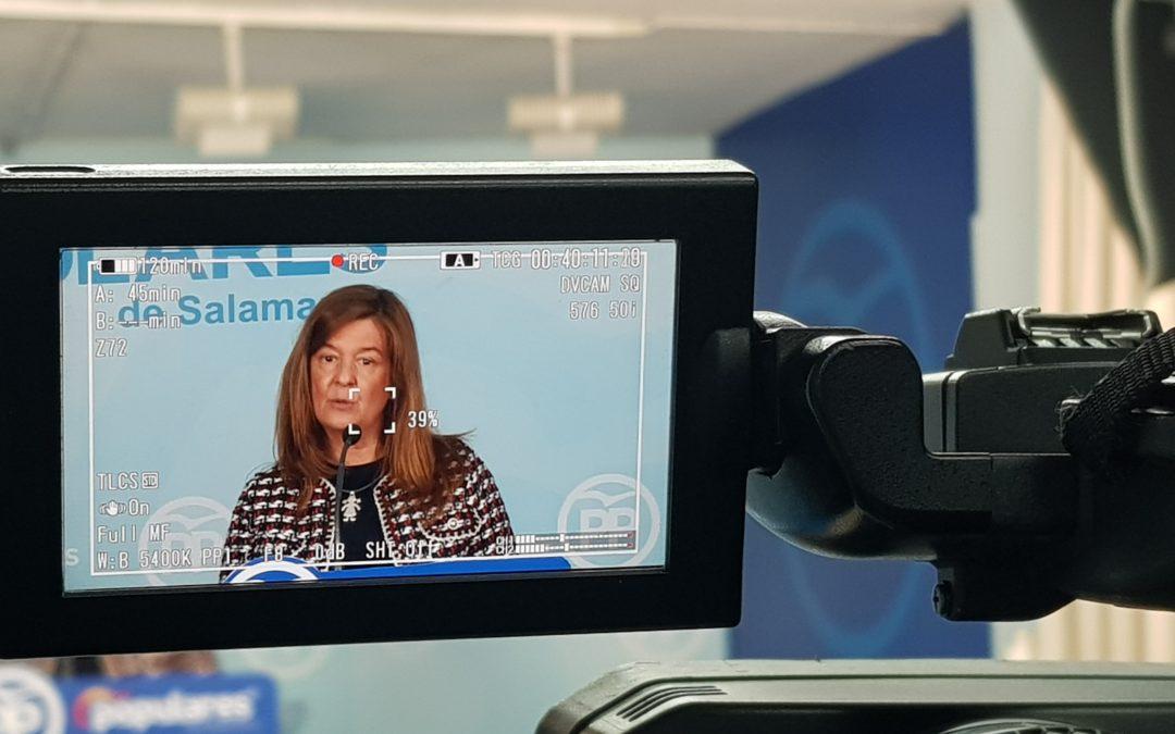 """Carmen Sánchez Bellota presenta las líneas de un programa educativo basado en """"la calidad, la libertad y la equidad"""""""
