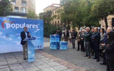 """Fernández Mañueco: """"Si me dais vuestra confianza el 26 de mayo os prometo un proyecto renovado"""""""