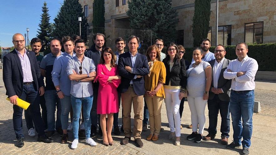 García Carbayo consolidará programas únicos en España para el fomento, atracción y retención del talento y los extenderá a la Formación Profesional para impulsar una industria del conocimiento en  Salamanca