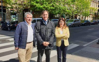 Carlos García Carbayo impulsará la mejora de la seguridad vial para seguir reduciendo la siniestralidad en las calles de Salamanca