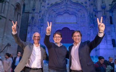 Fernández Mañueco se compromete a poner a Castilla y León a la cabeza de la investigación y la innovación de la mano de universidades públicas y empresas