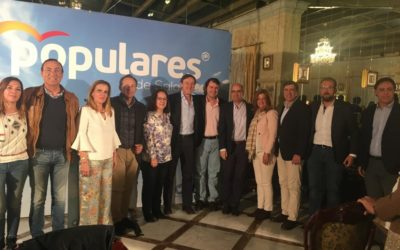"""Fernández Mañueco afirma que el proyecto del Partido Popular es """"moderado, centrado, reformista, dialogante, con capacidad para unir, para dar estabilidad a España y para recuperar el ritmo de crecimiento"""""""