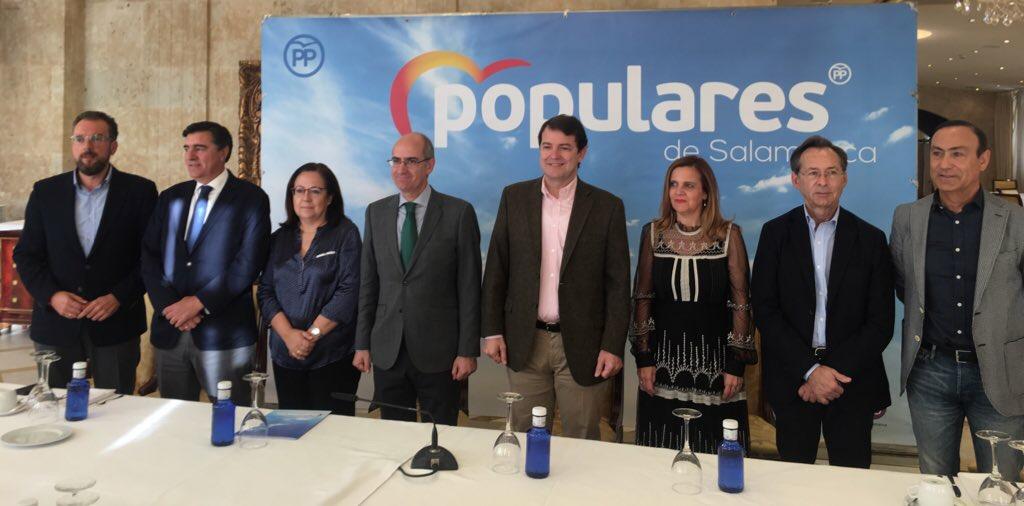 Alfonso Fernández Mañueco anima a concentrar el voto en Pablo Casado, única alternativa de cambio