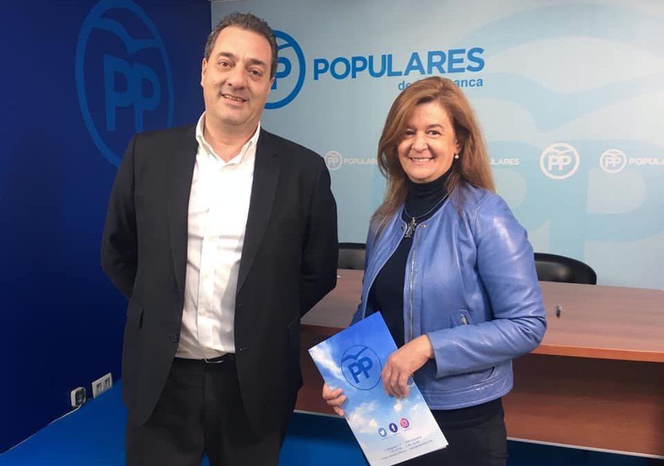 """""""El Partido Popular ha defendido siempre una asis-tencia sanitaria en el medio rural cercana y de cali-dad"""""""
