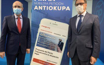 El Partido Popular presenta una campaña para luchar contra la ocupación ilegal