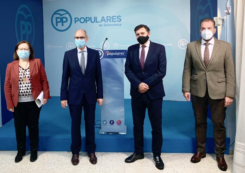 El PSOE presenta unos presupuestos «decepcionantes, que desprecian a nuestra tierra y que no se merecen los salmantinos»