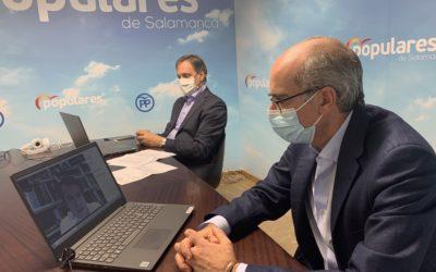 El Partido Popular de Salamanca avala la gestión del presidente Fernández Mañueco y reconoce los esfuerzos de la Junta para hacer frente a la pandemia