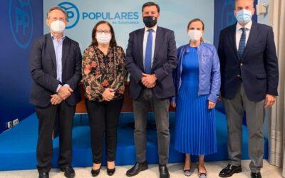 Los parlamentarios del Partido Popular de Salamanca valoran los Presupuestos Generales del Estado para Salamanca