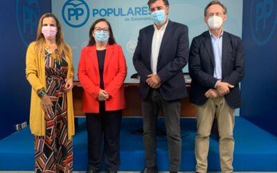 El Partido Popular garantizará que Salamanca vuelva a ser prioritaria en las inversiones del Gobierno